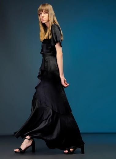 Tuvanam X Fabrika Elbise Siyah